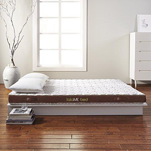 Rio Home Fashions MFM-SY01-6Q tataME Bed Memory Foam Mattress Bed & Topper, Queen, ()