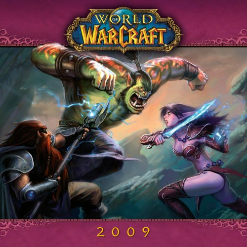 World of Warcraft 2009 Mini Wall Calendar (Calendar)