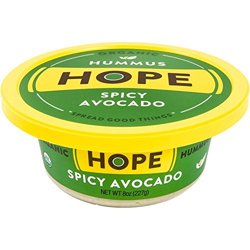 Hope Foods, Spicy Avacado Hummus, 8 oz