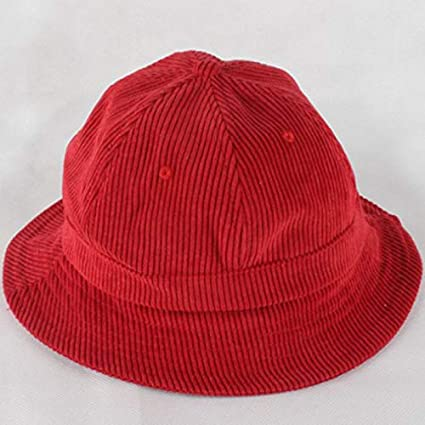 d27901b32 Amazon.com: HeroStore Which in Shower Plain Dome Corduroy Bucket hat ...