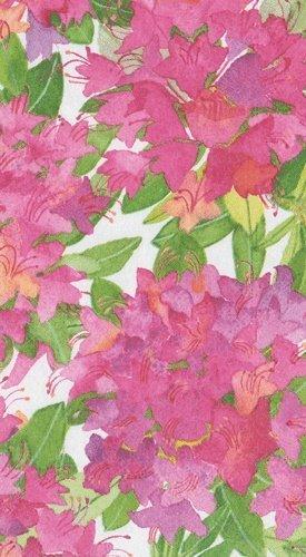 Caspari flores de papel para invitados toallas, Rosa, Paquete de 15: Amazon.es: Hogar