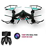 KingPow RC Drone 2.4 GHz FPV Virtual Reality Wifi RC Quadcop...