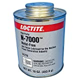 Loctite 51270 Silver LB 8013 High-Purity Anti-Seize Lubricant, -20 Degree F Lower Temperature Rating to 2400 Degree F Upper Temperature Rating, 1 lb. Brush Top Can