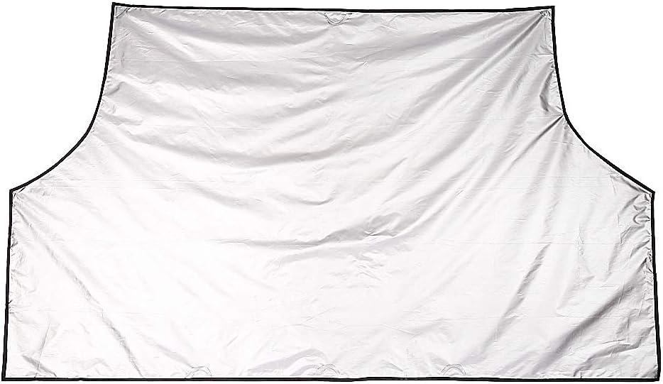 Yctze Cubierta del parabrisas nueva cubierta universal del parabrisas del coche Poli/éster Ventana autom/ática Protector de hielo para nieve Cami/ón SUV Parabrisas Cubiertas para nieve Parasoles