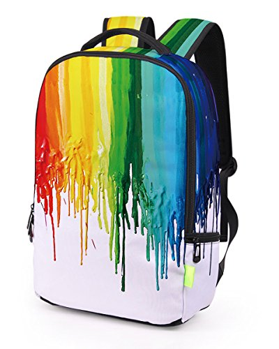 All White Backpack - 4