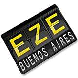 RFID Passport Holder EZE Airport Code for Buenos Aires, Cover Case / Wallet - N