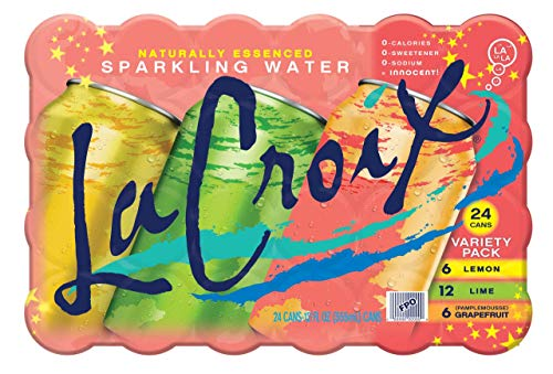 LaCroix Sparkling Water, Lemon, Lime, & Grapefruit Variety Pack, 12oz Cans, 24 Pack, Naturally Essenced, 0 Calories, 0 Sweeteners, 0 Sodium by Shasta Beverages, Inc (Pantry) (Image #14)