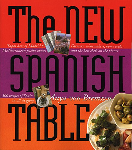 The New Spanish Table (Table Spanish)