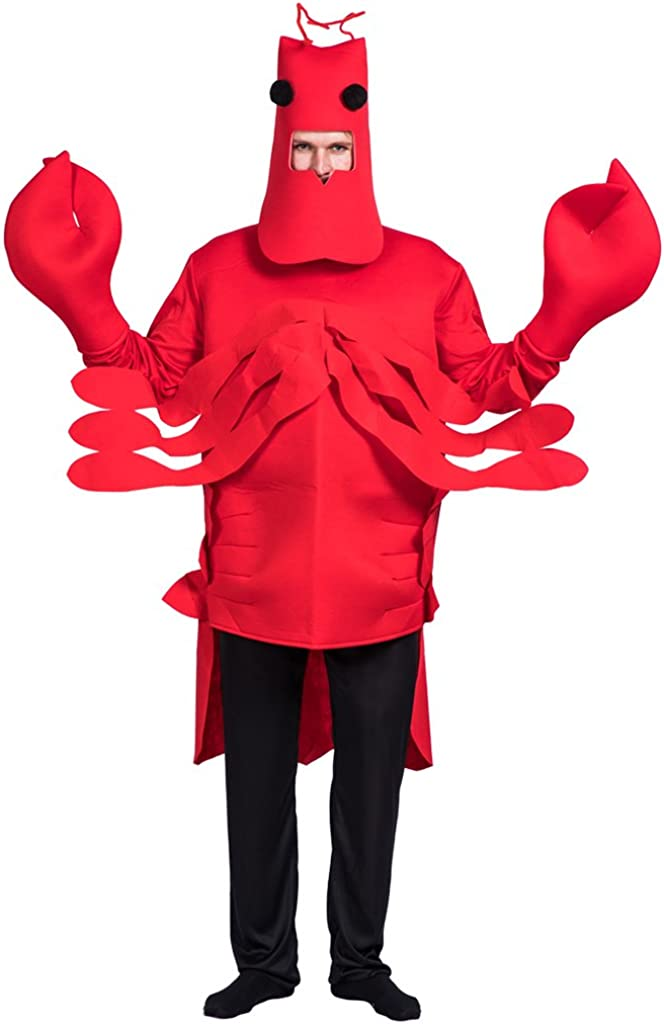 EraSpooky Mascota de Langosta-Adulto Bajo el Mar Vestido de ...