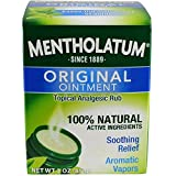Mentholatum Ointment Topical Analgesic Rub, 3 Ounce