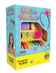 Creativity for Kids Fashion Headbands Craft Kit, Makes 10 Uni...