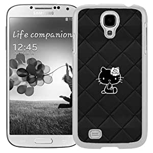 Hello Kitty Background (2) Durable High Quality Samsung Galaxy S4 I9500 Case