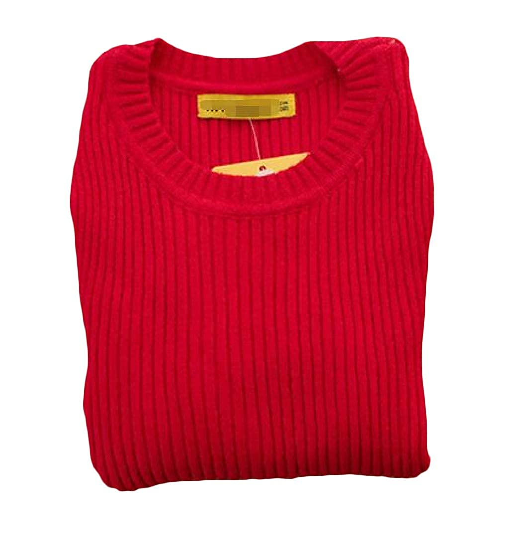 GloryA Girl Pure Color Slim Pullover Fall/Winter Knit Sweaters