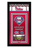 Philadelphia Phillies Miniframe World Series Championship Banner 7x13 Framed Sports Photo