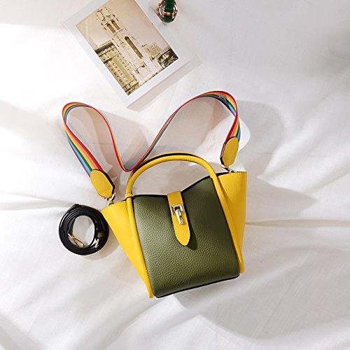Bat Alas Mano Femenino Green Gunaindmx Yellow Messenger A Spell Bolso Paquete Golpear Bollos Bollo Hombro Juego Bag Madre Bolsa Color angnpT0O