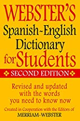 This 2014 revised and updated edition is ideal for English and Spanish speakers, this bidirectional dictionary defines the core vocabularies of Latin-American Spanish and American English. Abbreviated description text: This value-priced Spani...