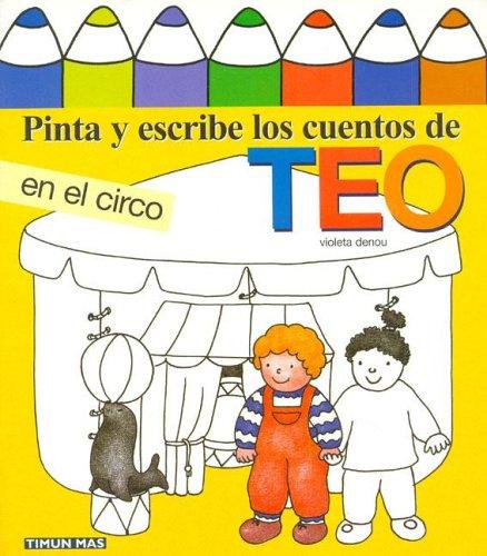 Download Pinta y Escribe Teo En El Circo (Spanish Edition) ebook