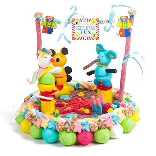 tarta Circo de chuches cumpleaños: Amazon.es: Handmade
