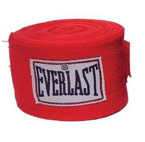 Everlast Hand Wraps (Red)