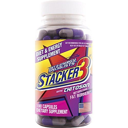 Stacker 3 Metabolizing Fat Burner - 7