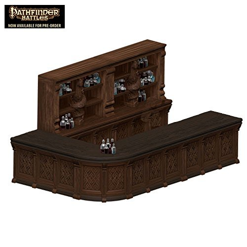 The Rusty Dragon Inn - Tavern Bar Premium Figure Wizkids WZK 72054