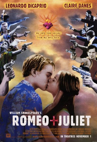 11 x 17 William Shakespeare's Romeo & Juliet Movie Poster
