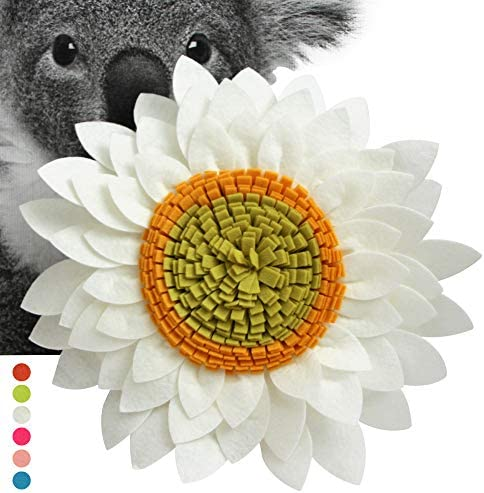 Sunflower Decorative Throw Pillows – 3D Flower Pillow – Accent Round Pillow – Sunflower Decorations – Flower-Shaped Decor for Living Room 14.5 Flower, 13 Pillow With Insert, Ivory