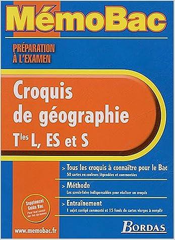 MEMO PREPA EXAM. CROQUIS GEOGR. TERM.    (Ancienne Edition) pdf ebook