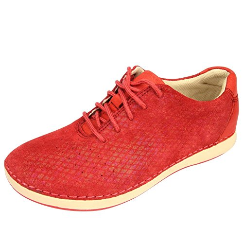 Alegria Womens Essence Sneaker Cherry