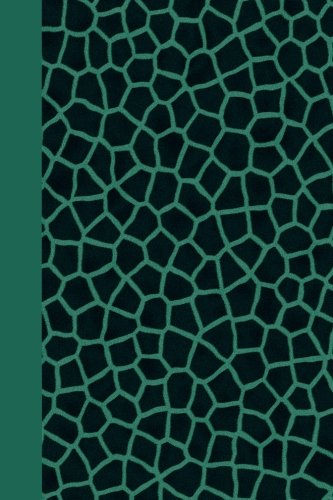 Journal: Animal Print (Green Giraffe) 6x9 - LINED JOURNAL - Journal with lined pages - (Diary, Notebook)