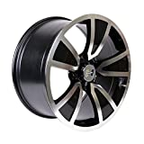 Hurst Shaker Black or Gold Accent/Clear Coat Wheel with Mirror Machined Face (20x10''/5x120mm)