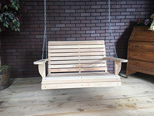 (LA Swings Inc 3ft Cypress Roll Back Porch Swing - Lead Time 5-7 Business Days)