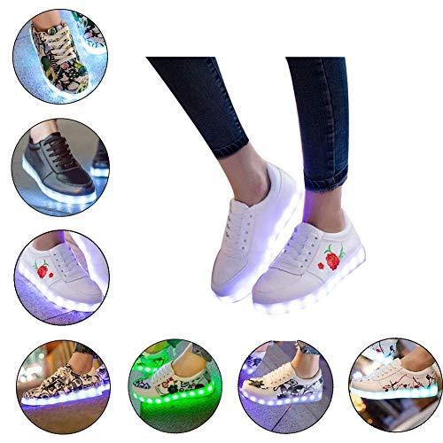 Uomini Fluorescenti Donne Donna Indossare Da 1 Possono Ghost Hongsheng Scarpe scarpe E Nuove Luminose n4C80wUxqS