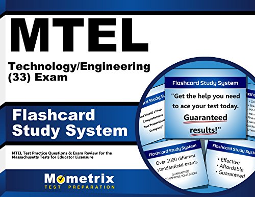 MTEL Technology/Engineering (33) Exam Flashcard Study System: MTEL Test Practice Questions & Exam Review for the Massachusetts Tests for Educator Licensure (Cards)