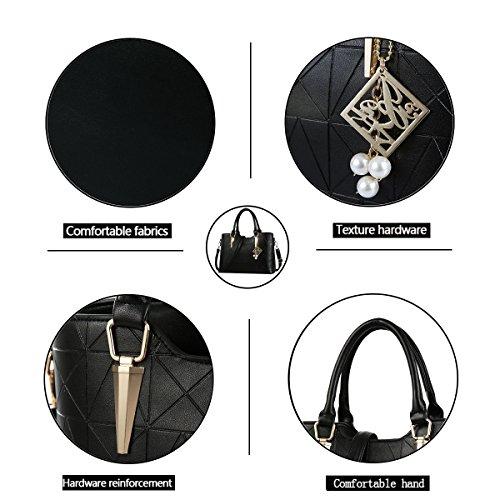 Bag Tisdaini Female Bag Messenger Handbag Woman Bag Black Size Fashion Wallet Large Retro WYq1USYw