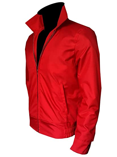22e085e6e Stylowears New Men's Rebel Without a Cause Red Cordura James Dean Jacket