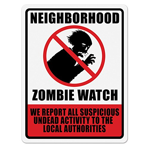 Beistle Neighborhood Zombie Watch