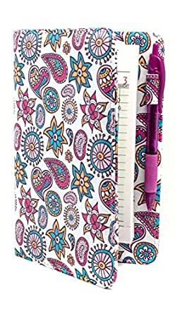 Sparkle Cats 8 x 5 Server Book//Order Pad Holder for Waitress Clearance Purple Sparkle Cats