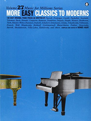 More Easy Classics to Moderns: Music for Millions Series (Music for Milions) by Music Sales