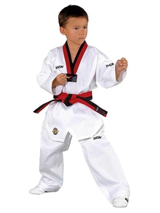 KWON Victory - Traje de Taekwondo poom 120: Amazon.es ...
