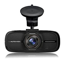 Dash Cam AUTO-VOX D2 1080P Full HD Car Recorder Dashboard Camera 2.7'' Built-in Screen With WDR G-Sensor Loop Recording Park Mode--Eyewitness On The Road …