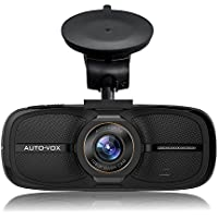 AUTO-VOX D2 Dash Cam,2.7 LCD 1080P Full HD Dashboard Camera DVR Recorder with G-Sensor WDR Loop Recording--Eyewitness On The Road