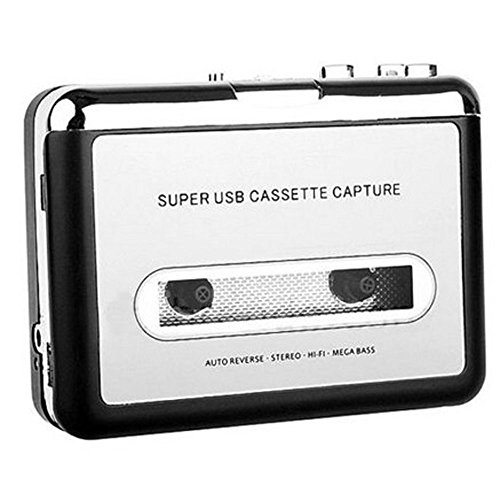 Winterworm® Tape to PC USB Cassette-to-mp3 Cd Converter C...