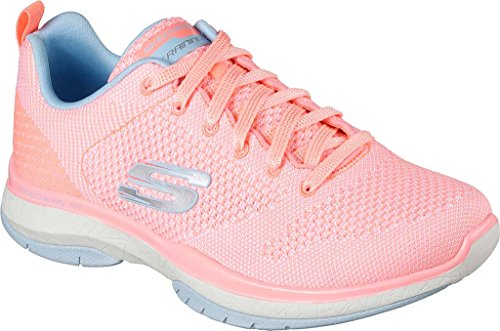 Skechers-Womens-Burst-TR-Close-Knit-Trainer