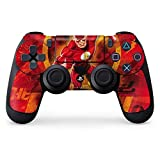 Flash PS4 Controller Skin – Ripped Flash | DC Comics & Skinit Skin For Sale