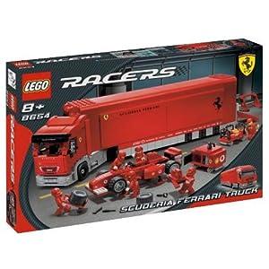 LEGO Scuderia Ferrari F1 transporter 8654 LEGO Speed Champions LEGO
