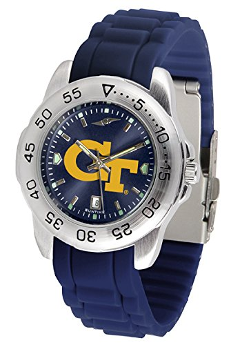 Georgia Tech Yellow Jackets Sport Silicone Men's Watch