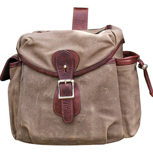 HoldFast Gear Explorer Large Lens Pouch (Olive with Brown Trim) by HoldFast