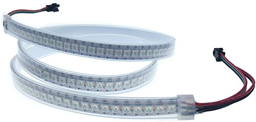 WS2812B 5050 5V 144LED//M LED Pixel Strip Lights WS2812 IC Individual Addressable