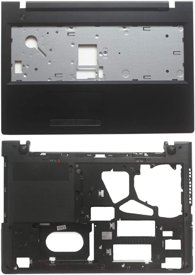 New Laptop Replacement Parts for Lenovo IdeapPad G50-70A G50-70 G50-70M G50-80 G50-30 G50-45 Z50-70 Z50-30 (Palmrest Upper Cover Case with Touch+Bottom Base Cover Case)